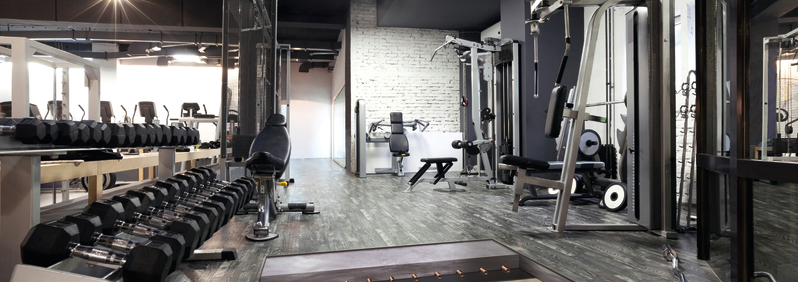5807-Acoustic Floor Block Fitness Center